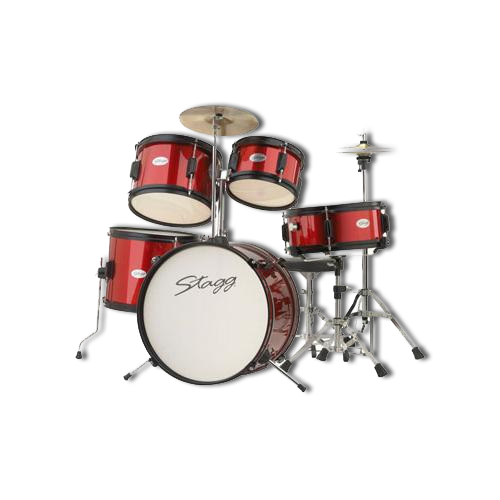Stagg Mate 5 Piece Drum Kit with Cymbals, Hardware and Chair