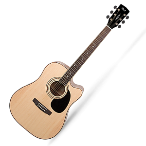 Cort AD880 Acoustic Guitar with Pickup, Bag and Built in Tuner