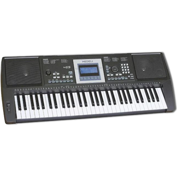 Medeli M15 Keyboard 61 Key with 200 Samples 150 Percussion
