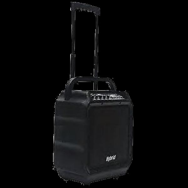 Hybrid Pa 08 Powered Wpeaker with Battery, Wireless Mic ,BT , USB 150Watt